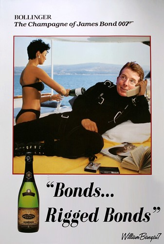 BOLLINGER AD by Colonel Flick