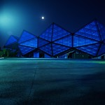 ShenZhen Universiade Sports Centre: Night View