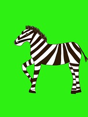 horse(0.0), font(0.0), mustang horse(0.0), animal(1.0), zebra(1.0), mammal(1.0), cartoon(1.0), illustration(1.0),