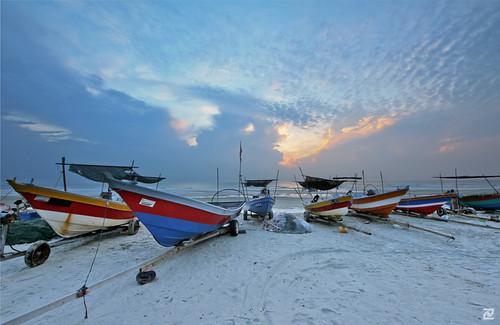 sunrise boats dawn fishing sigma kuantan pahang 816 digitalblending beserah