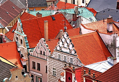 playing with roofs... by Zé Eduardo...
