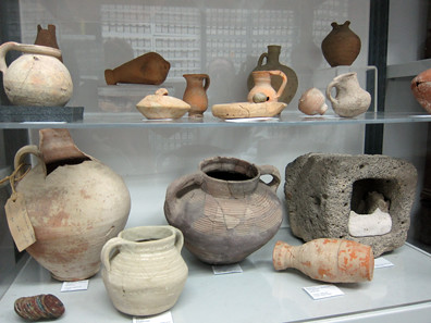 Israel Antiquities Authority coin vessels