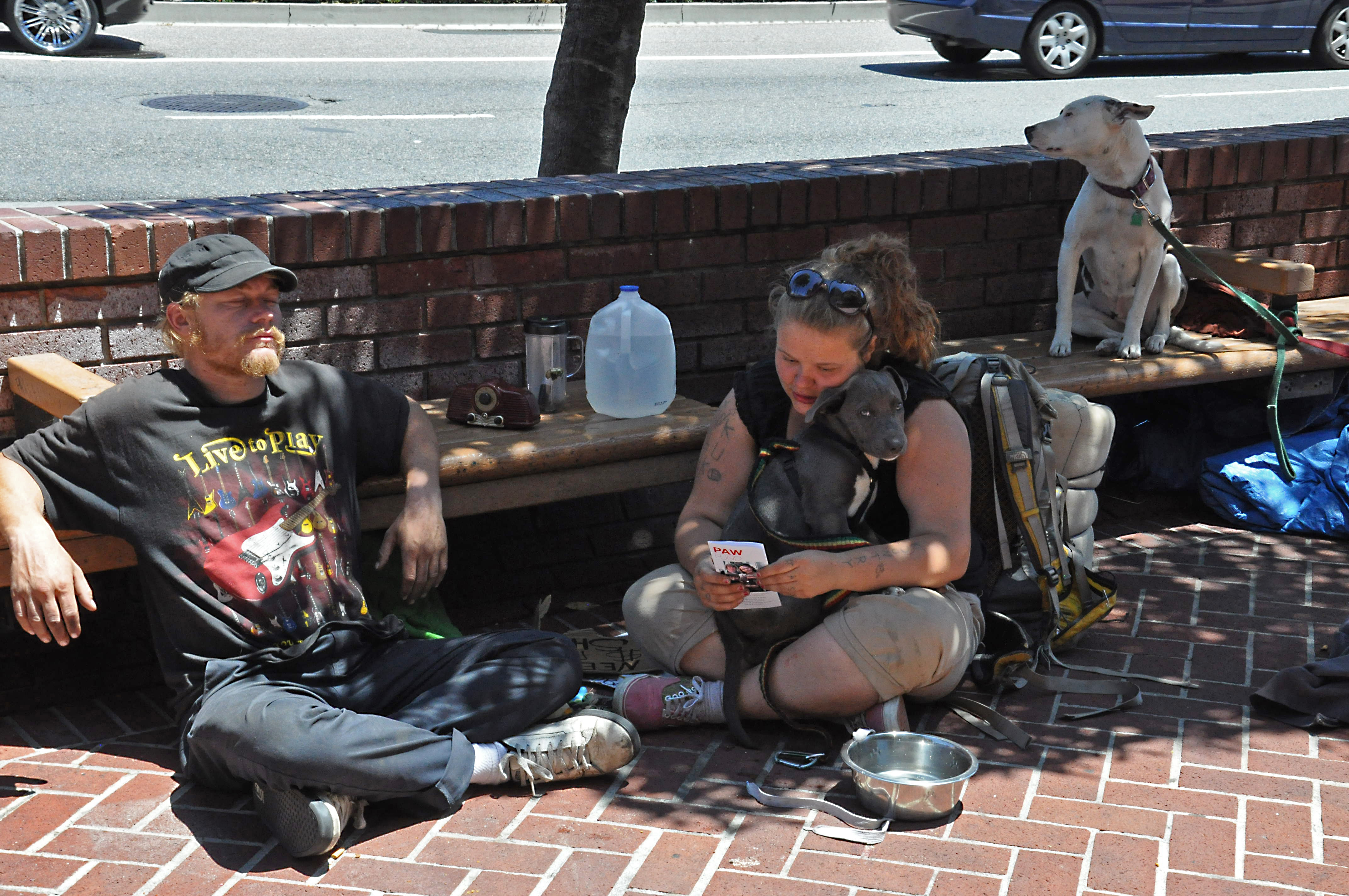 u s being young and homeless could get even worse inter press amber and a friend sit on shattuck avenue in downtown berkeley where homeless people be targeted for fines credit judith scherr ips