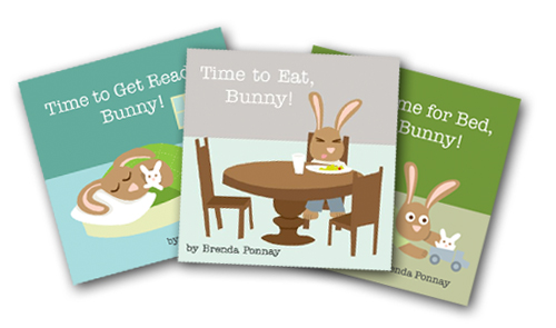 THREE! Bunny Books!