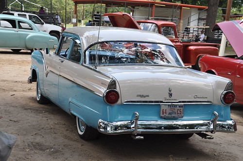 55 Ford Fairlane with Overdrive