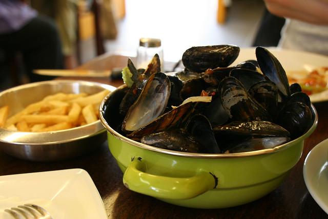 musselen + frites