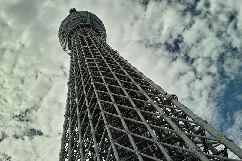 Merrill in Tokyo Sky-Tree