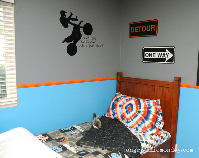 Seven Year Old Boy's Room, Urban Extreme Theme