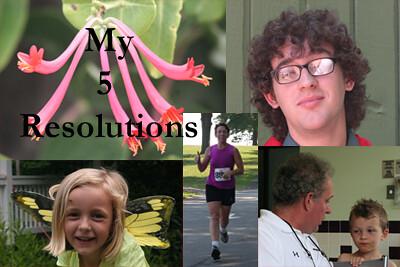 My 5 Resolutions