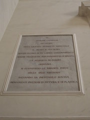 Photo of Giuseppe Garibaldi marble plaque