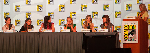 Powerful Women In Pop Culture Panel - San Diego Comic-Con 2012