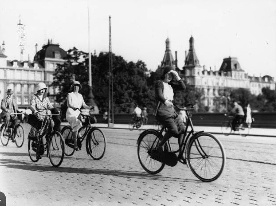 Danish Bicycle History - Nørrebrogade