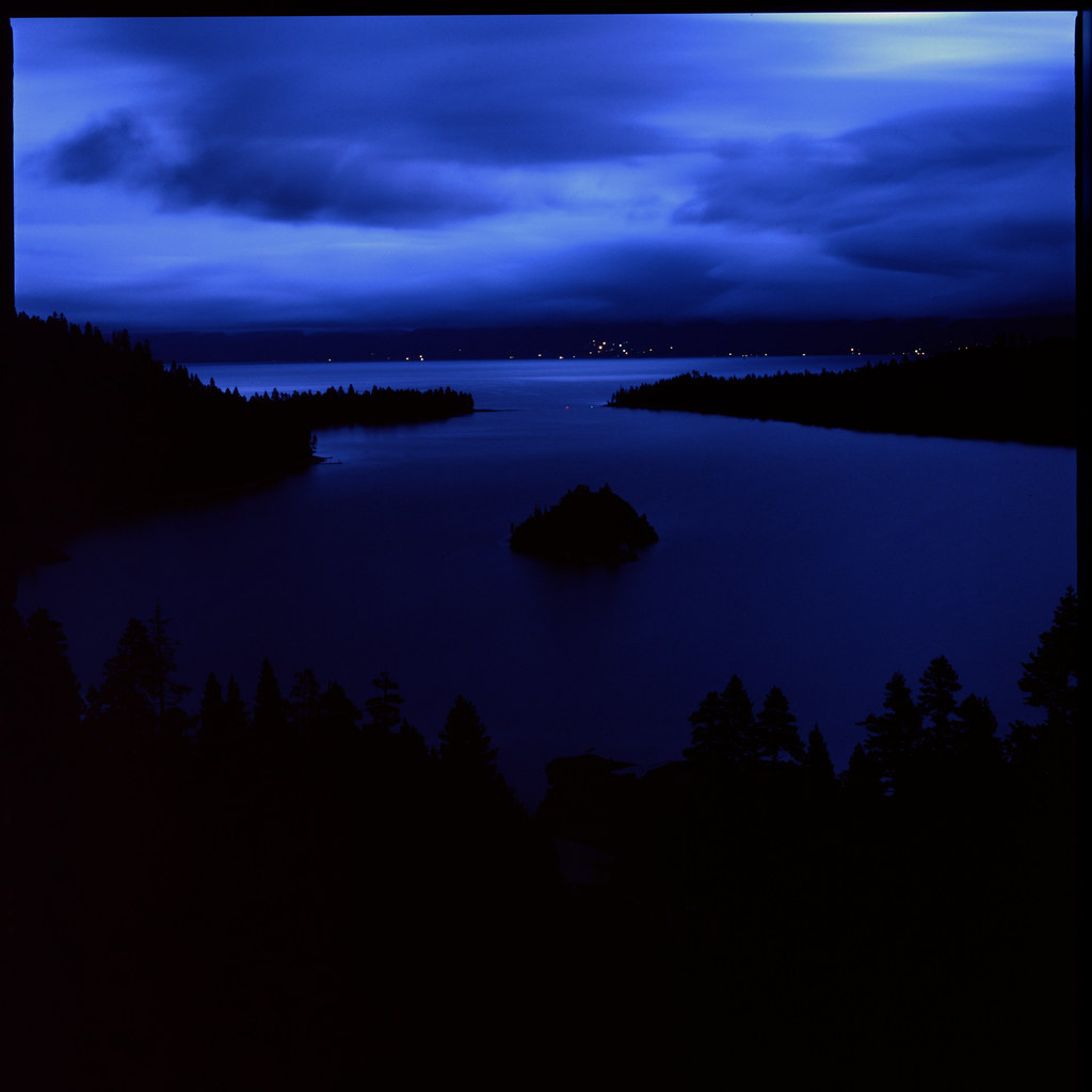 Emerald Bay on Velvia 50 120