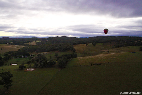 Hot Air Balloon Ride in Yarra Valley