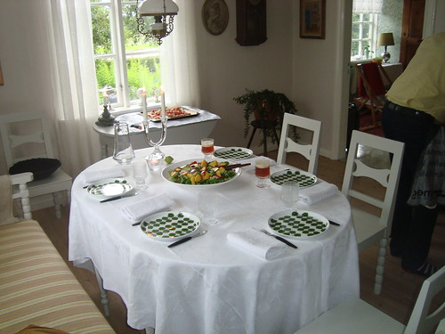 Table all set