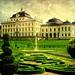 Ludwigsburg - Residenzschloss - Rückseite mit Boderien ,50-36/1346 by roba66