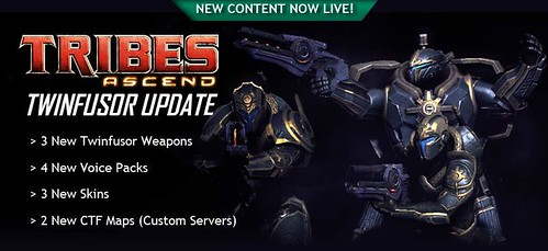 Twinfusor Update for Tribes: Ascend is Live