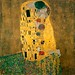 klimt-the kiss-  free image from Wiipedia