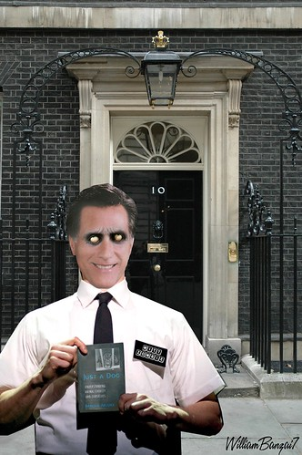 DOOR TO DOOR DOWNING STREET (MITT ZOMBIE) by Colonel Flick