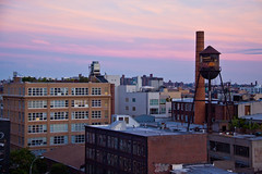 View of Williamsburg from the Wythe Hotel Rooftop - Brooklyn