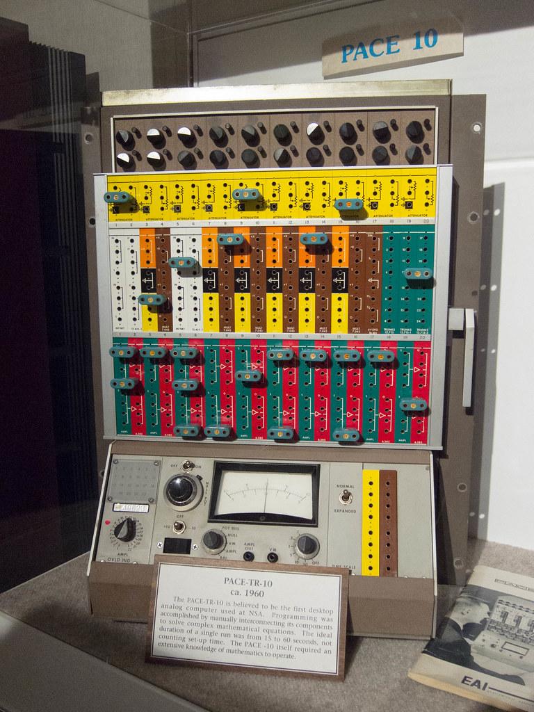 Pace TR-10 Desktop Analog Computer