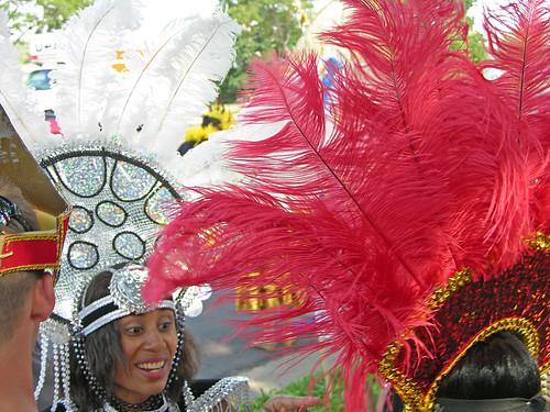 Carifest 2012 sequins & feathers