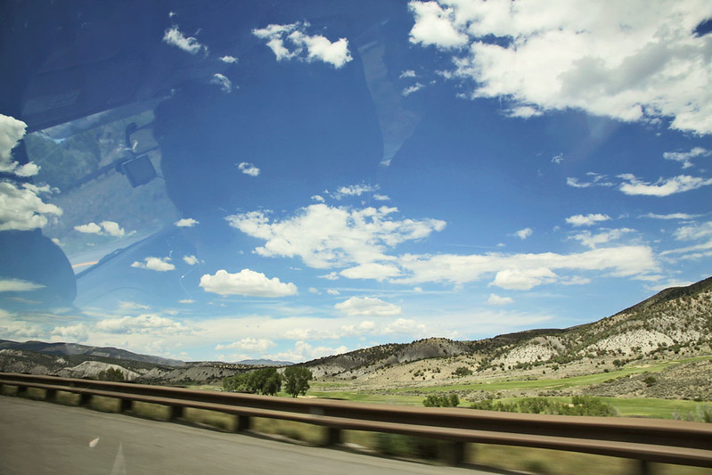 driving to Aspen 8