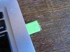 USBメモリでインストールディスクを…