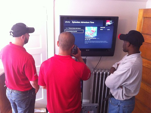 Off On A Tangent: Comcast Xfinity X1 Platform: First Look