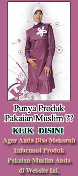 Promosi pakaian muslim
