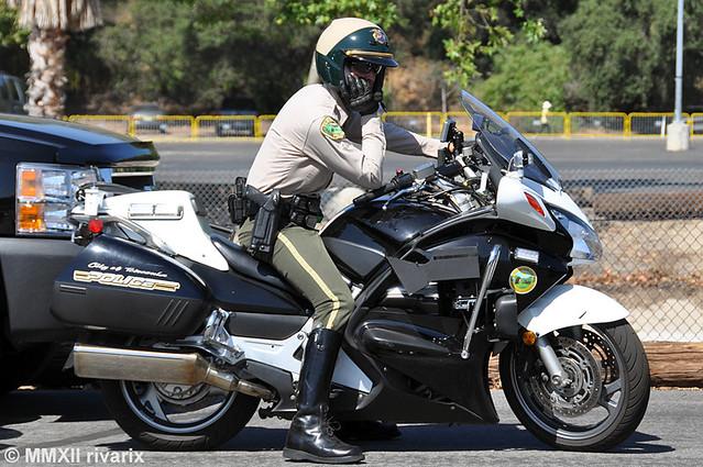 Honda St1300 Police Motorcycle Honda St1300 Police Motorcycle