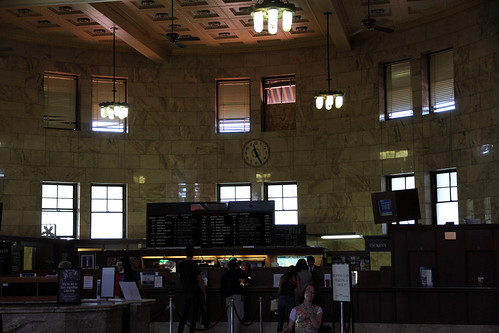 Portland - Union Station - Ticket Counter