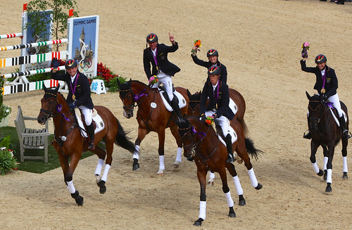 German Eventing Team - Gold Medal, London 2012
