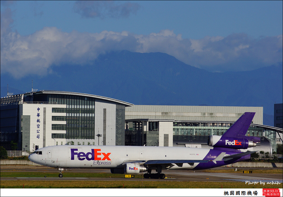FedEx Express / N527FE / Taiwan Taoyuan International Airport