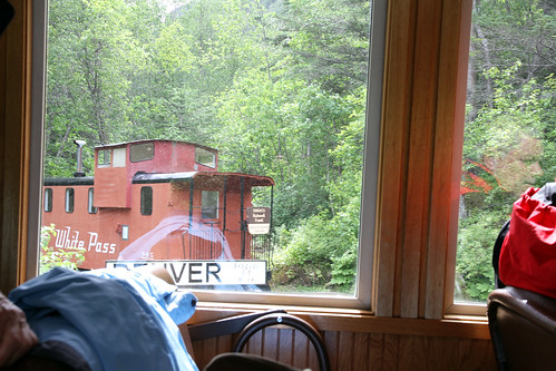 White Pass Railroad - Caboose for Rent