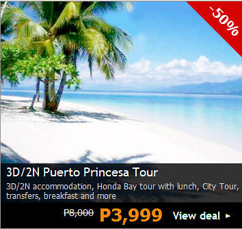 Puerto Princes Package Tours Promo