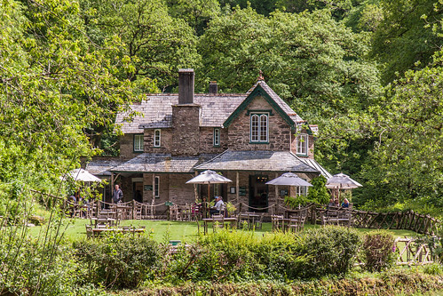 National Trust Cafe at Watersmeet