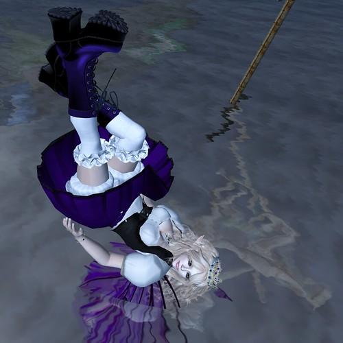 Falling to Water