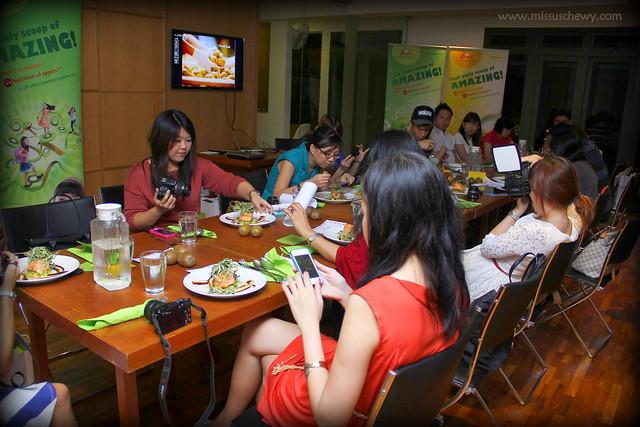 Zespri Kiwi Dinner @ The Living Cafe 032