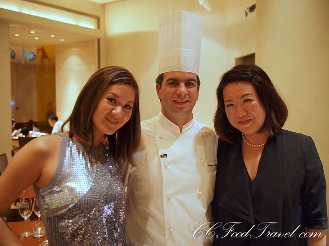 ciki, cheryl and Chef Stéphane Tremblay