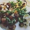 Delicious leftovers plus adorable produce from @LA_MacD @rosco_uk999's garden!