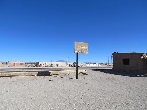 Village abandonné près du Salar de Chiguana