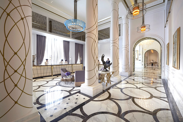 60MOTPE Reception 酒店接待櫃台
