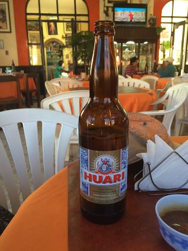 Tupiza: nous avons enfin testé ue bière bolivienne ! Très bonne.