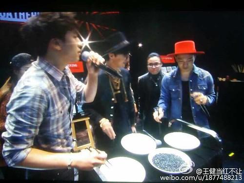 G-Dragon, Seung Ri & Tae Yang - V.I.P GATHERING in Harbin - 21mar2015 - 王健当红不让 - 01