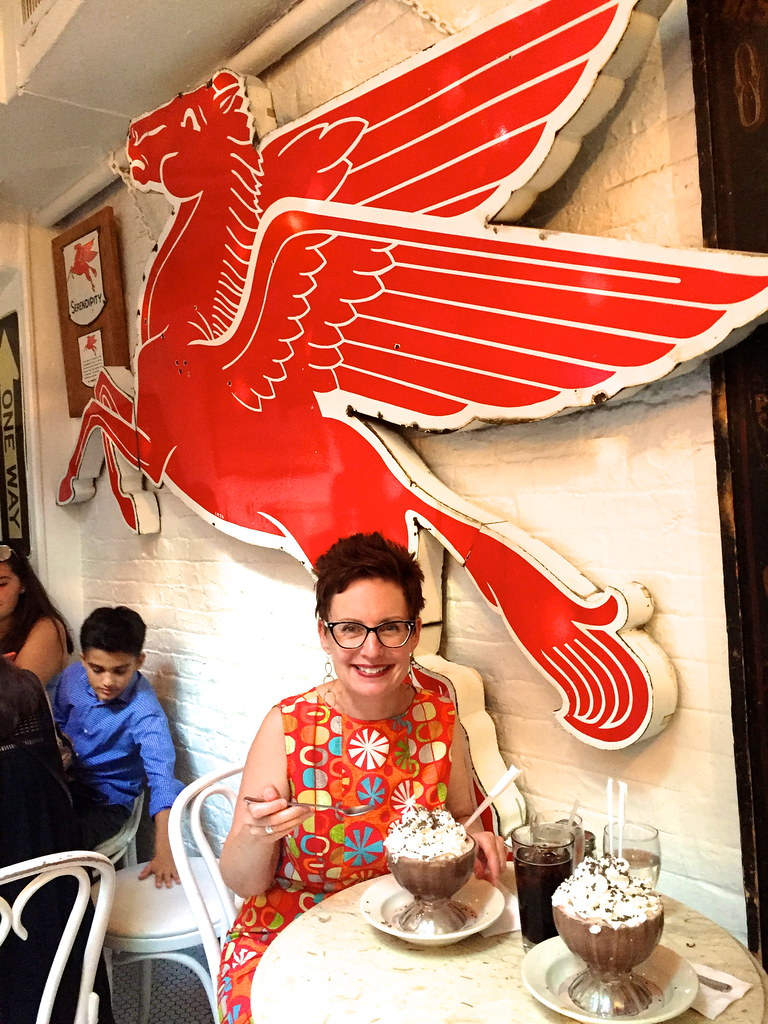 Mod Betty at Serendipity 3 New York City- Retro Roadmap