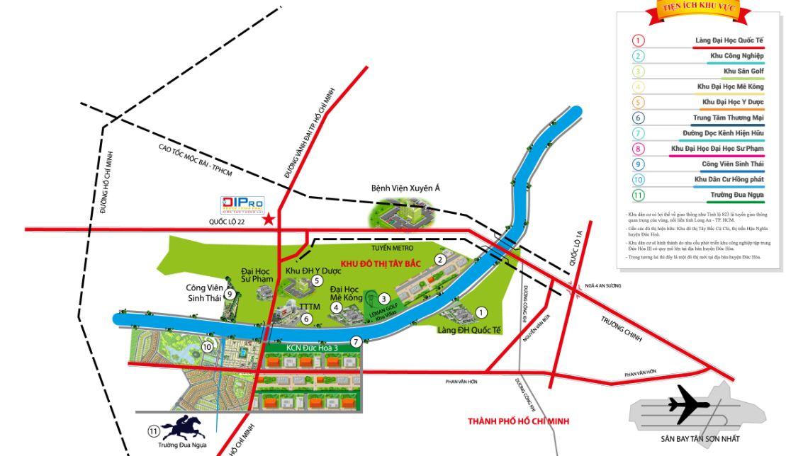 Bản đồ Khu Đô Thị Daresco Residence