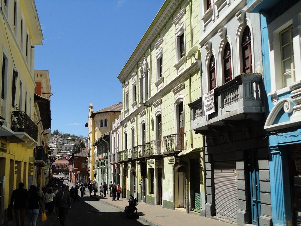 Centro Histórico de Quito.