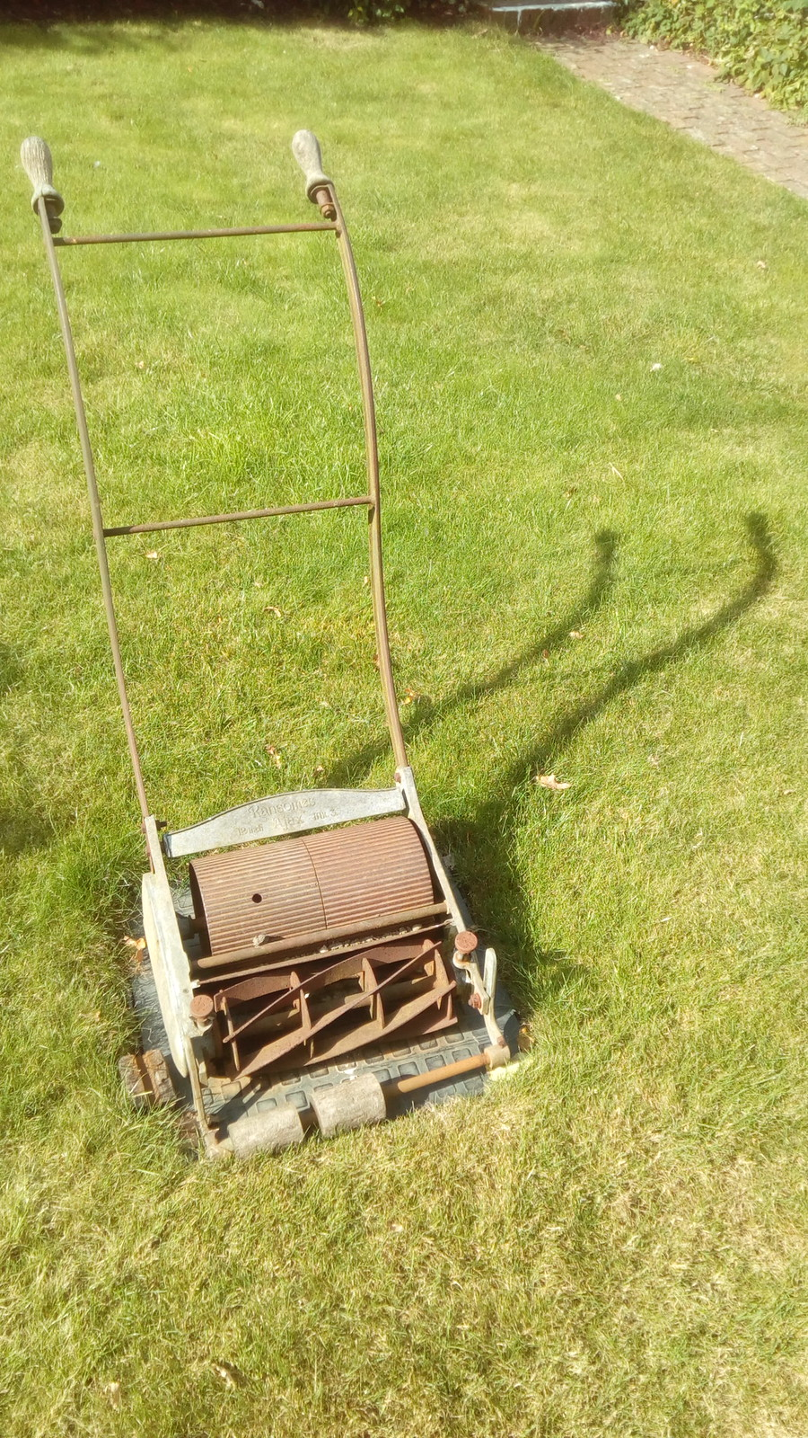 Resident Mower Ransomes 12 inch Ajax Mk 3