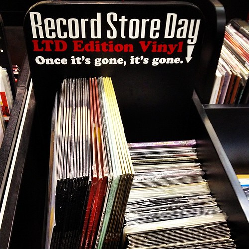 #Record store day at Tower Records #Vinyl by Gribers